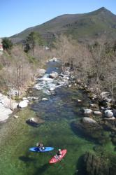Auf dem Vecchio, einem der schönsten Flüsse Korsikas1