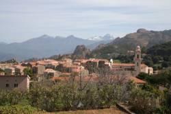 Die Korsischen Berge an der Westküste2
