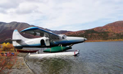 Einflug zum Bonnet Plume Lake 2