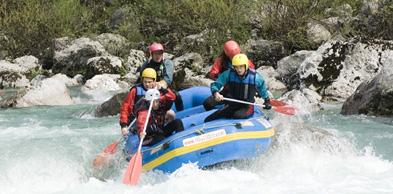 Rafting Saalach