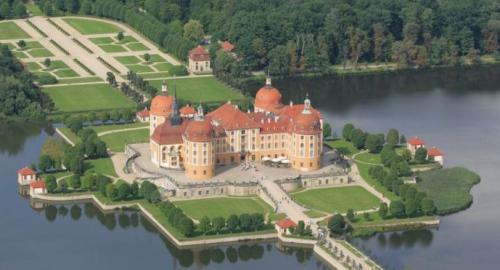 Moritzburger Schloss oben