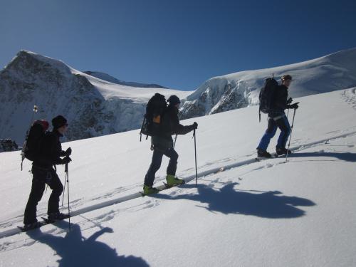 Abfahrt Val d'Arpette