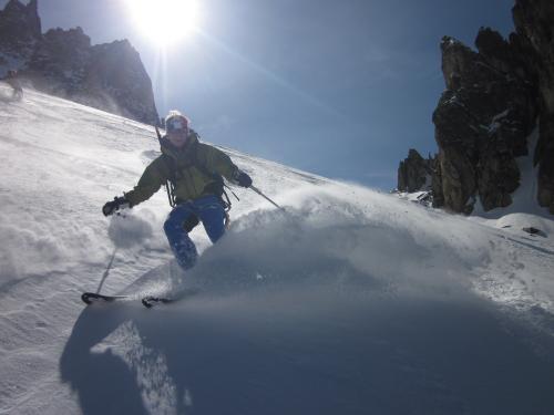 Abfahrt nach Zermatt am Matterhorn vorbei