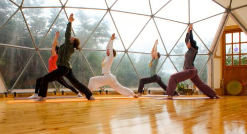 Yoga im Dome