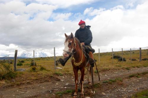 Gaucho der Estancia Cerro Guido