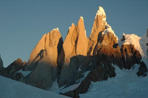 Cerro Torre im Abendlicht