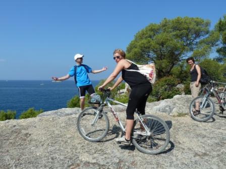 Mountain Bike Tour entlang der Küste