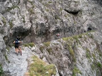 durch die Uinaschlucht (Alpencross)