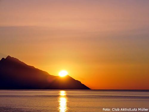 Märchenhafte Sonnenaufgänge