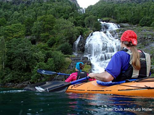 Wasserfälle zum Greifen nah
