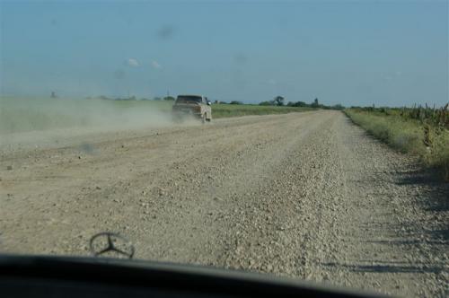 Landstraßen auf der Krim