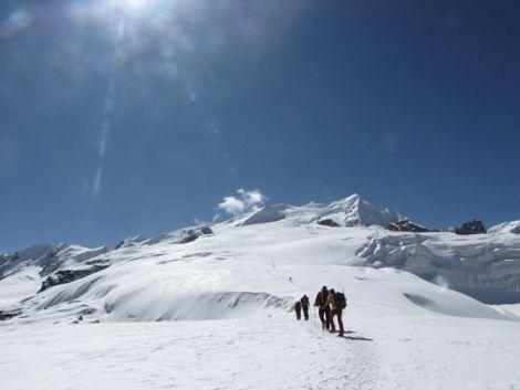 Das Ziel: Mera Peak 6.476 m.M.