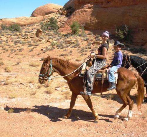 Trevor, ein Navajo-Junge braucht nicht zu laufen... :)