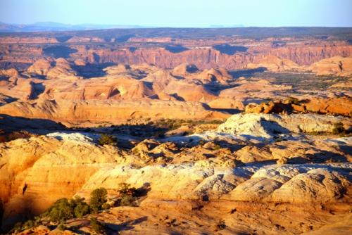 Das Rainbow Plateau mit seinen unzähligen Canyons