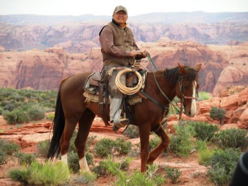 Eric, unser Navajo-Guide
