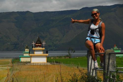 Lake Toba - Grabstätten