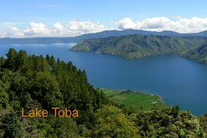 Sumatra - Lake Toba, der größte Kratersee der Welt