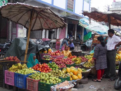Markt in Udaipur