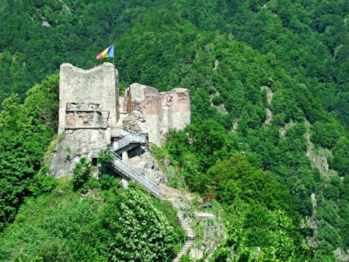 Poienari Schloss