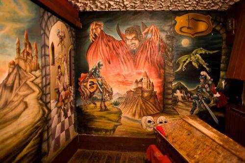 Dracula's Zimmer Piatra Fantanele