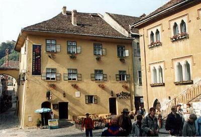 das Geburtshaus des Grafen Dracula von Sighisoara