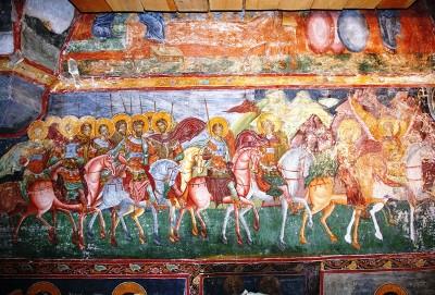 Malerei von Patrauti Kloster