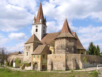 Biertan Schloss