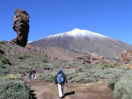 Wanderung im Nationalpark El Teide