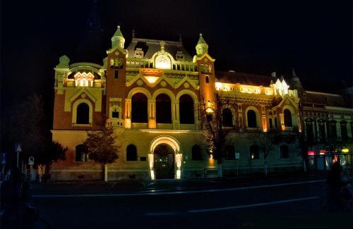 Der Palast des Griechisch-Katholischem Bistums