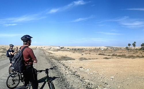 Auf unseren Biketouren erkunden wir die Insel
