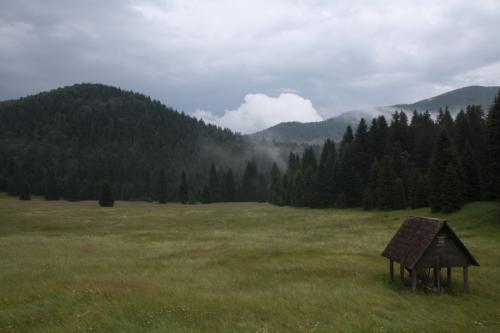 Croatia - Experience Wilderness Risnjak NP - Blick von der Beobachtungshütte
