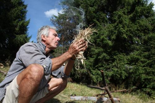 Croatia - Experience Wilderness Risnjak NP - Feuer machen ohne Streichhölzer