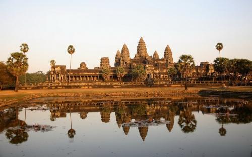 Radtour bei den Tempeln von Angkor