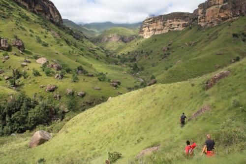Experience Wilderness Südafrika - Trekking in den Drakensbergen