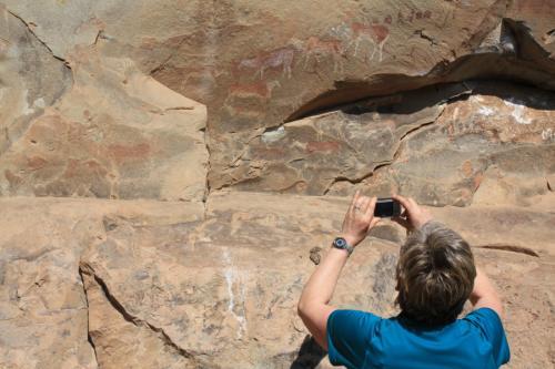 Experience Wilderness Südafrika - Felsenzeichnungen