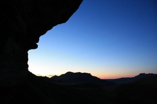 Experience Wilderness Südafrika - Übernachtung in Felsüberhängen