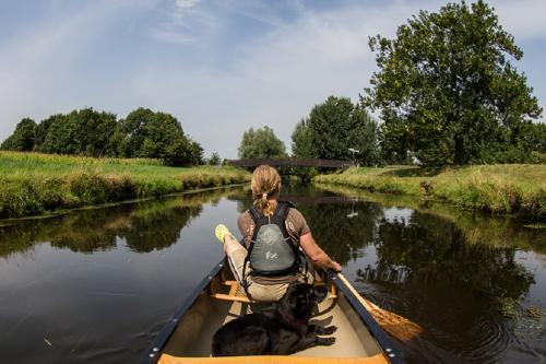 Kanu Wandertour auf der Niers - paddeln am Niederrhein
