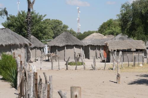 Botswanisches Dorf