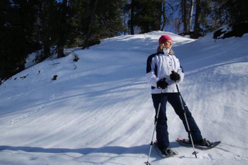 und Zeit die idyllische Winterlandschaft zu genießen