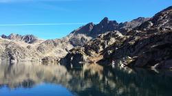 Pic de Escobes mit Laguna Junclar