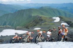 Enduro im Kaukasus
