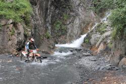 Enduro Flussdurchfahrten