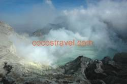 Vulkan im Osten der Insel Java