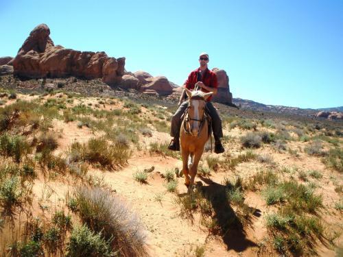 Reiten im Navajoland