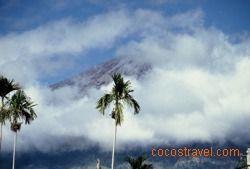 der Mount Rinjani ist ein gigantischer Berg